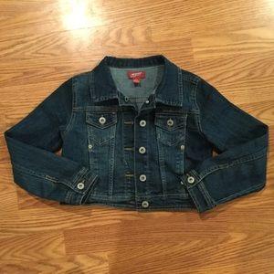 Girls Arizona Crop Denim Jacket